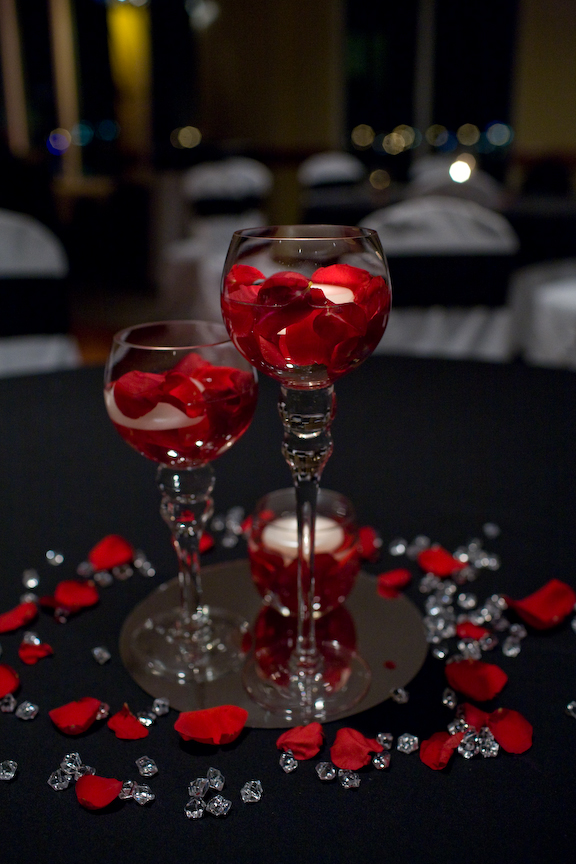 Red And Black Wedding Decor Ideas Black And Red Wedding Centerpiece